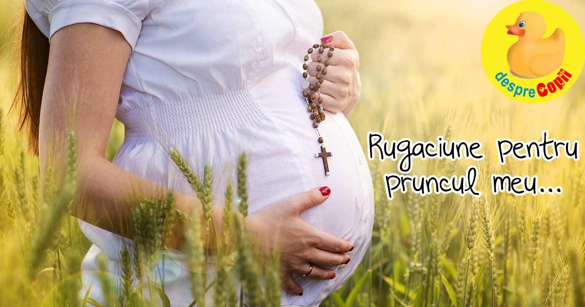 Aceasta rugaciune pentru pastrarea sarcinii mi-a adus calm si incredere