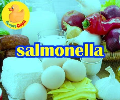 Salmonela si salmoneloza: intrebari si raspunsuri