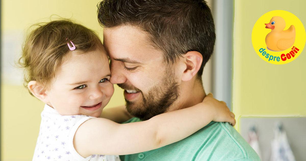 Sanatatea copilului depinde de cea a tatalui