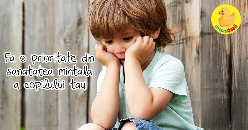 Imbunatateste sanatatea mentala a copilului tau cu ajutorul acestor sfaturi si ii vei creste stima de sine