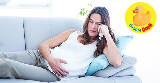 Prima sperietura din viata mea de graviduta
