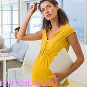 Activitatea creierului sufera modificari in timpul sarcinii