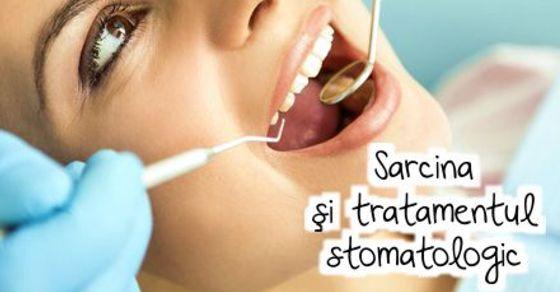 Sarcina si tratamentul stomatologic