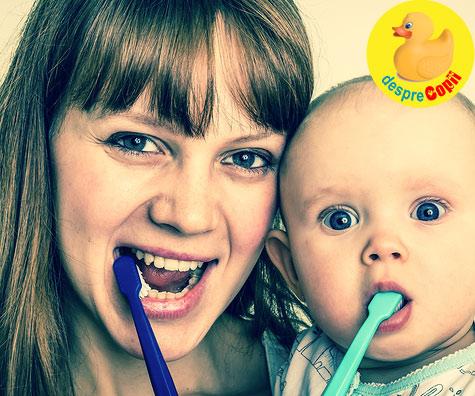 Pierde o mama un dinte pentru fiecare copil?