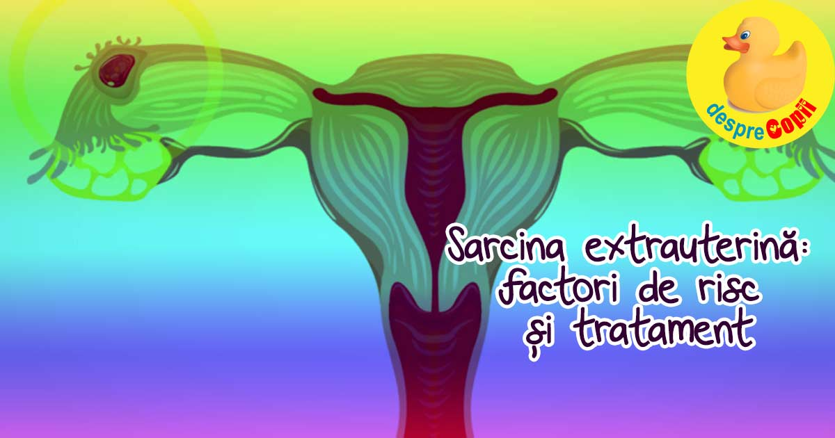 Sarcina extrauterina: factori de risc si tratament