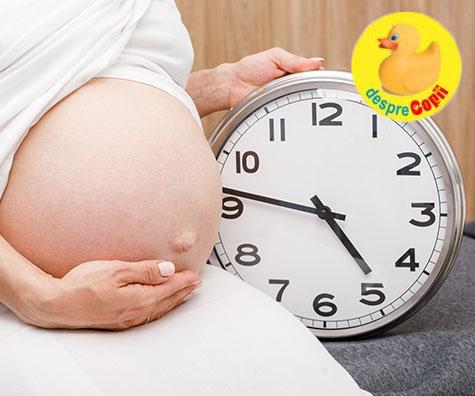 Sarcina peste termen - ce este de facut cand bebe nu se grabeste sa se nasca?