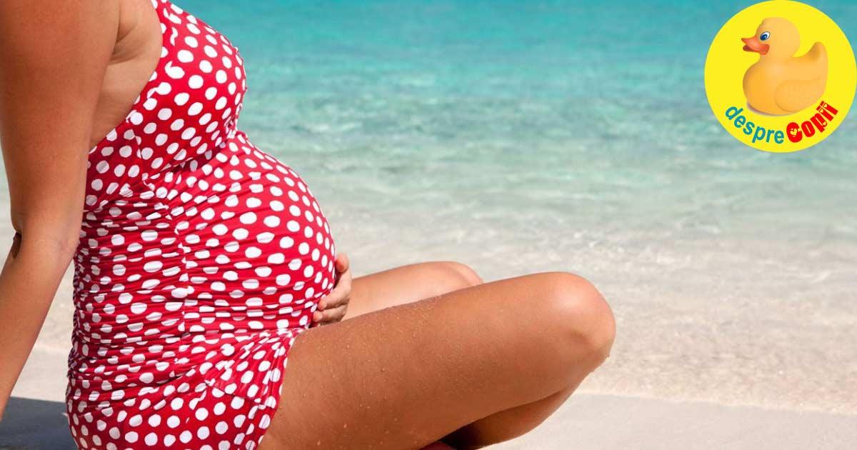 Copiii cresc mai inalti daca mamele lor s-au bucurat de soare in timpul sarcinii