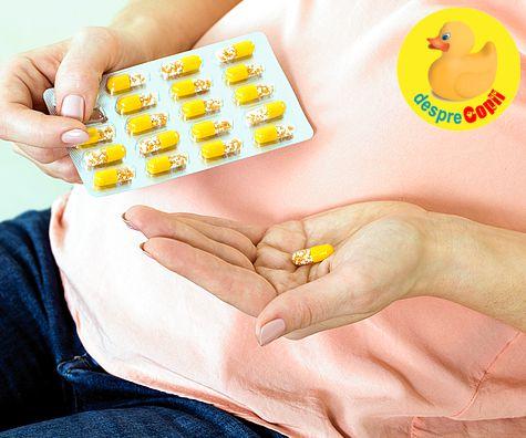 Sarcina si Suplimentele de vitamine prenatale: ce trebuie sa stie orice graviduta