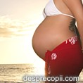 Copiii cresc mai inalti daca mamele lor s-au bucurat vara de soare in timpul sarcinii