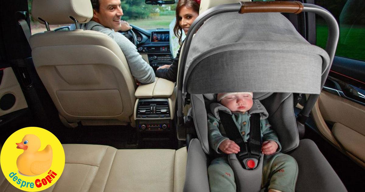 Acesta este locul cel mai sigur pentru scaunul de masina al bebelusului - sfatul specialistilor