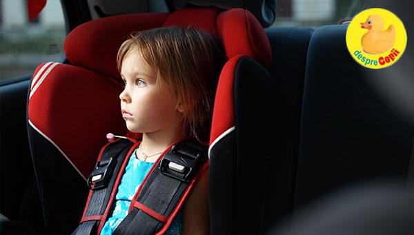 5 sfaturi pentru alegerea unui scaun de masina pentru copii