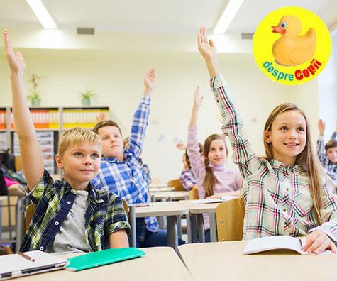 Incepe scoala: emotii, intrebari si raspunsuri pentru parinti