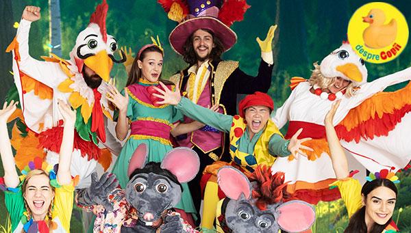 Muzicalul Secretul Pălăriei Fermecate revine pe 29 septembrie, la Palatul Copiilor