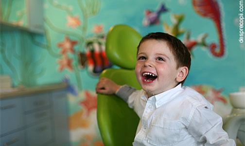 Inhalosedarea copilului la dentist