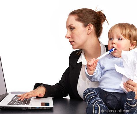 Mamicile si provocarile reintoarcerii la serviciu