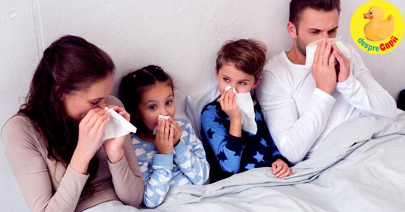 10 lucruri pe care le-am invatat despre sezonul gripei