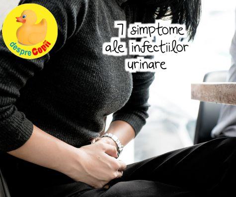 7 simptome ale infectiilor urinare