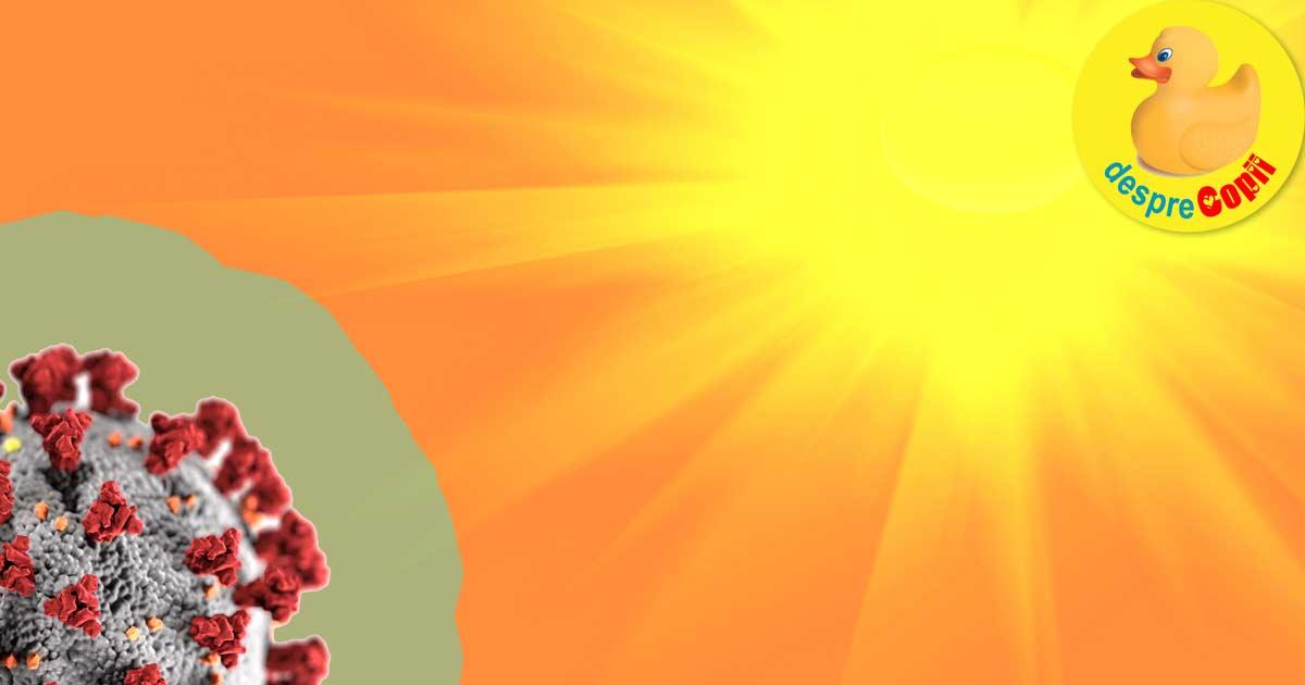 Soarele distruge coronavirusul rapid dar specialiștii spun că pandemia ar putea continua si dupa vara