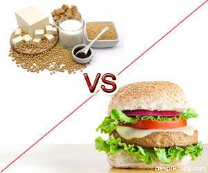 Este soia este o alegere mai sigura decat carnea?