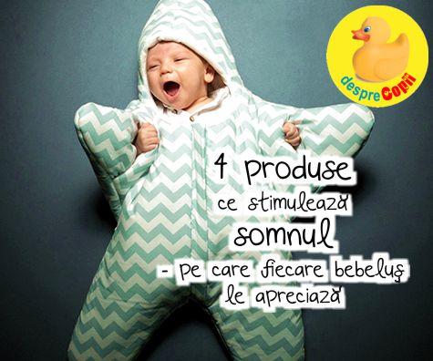 4 produse ce stimuleaza somnul - pe care fiecare bebelus le apreciaza