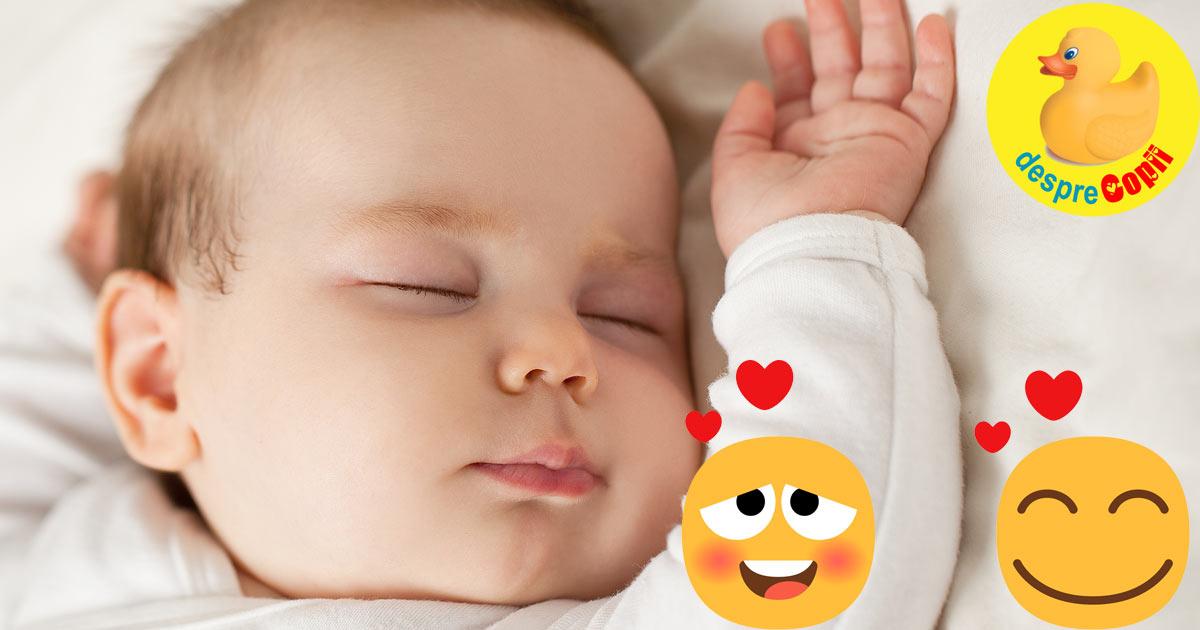 O mamica ne impartaseste un truc genial care il va face pe bebelusul tau sa adoarma linistit