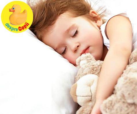 Somnul de dupa-amiaza: rolul sau in dezvoltarea copilului