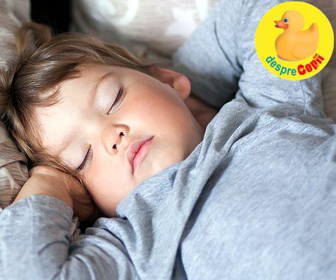 De cat somn are nevoie copilul tau?