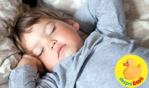 Tu stii de cat somn are nevoie copilul tau? Iata cat trebuie sa doarma in functie de varsta.
