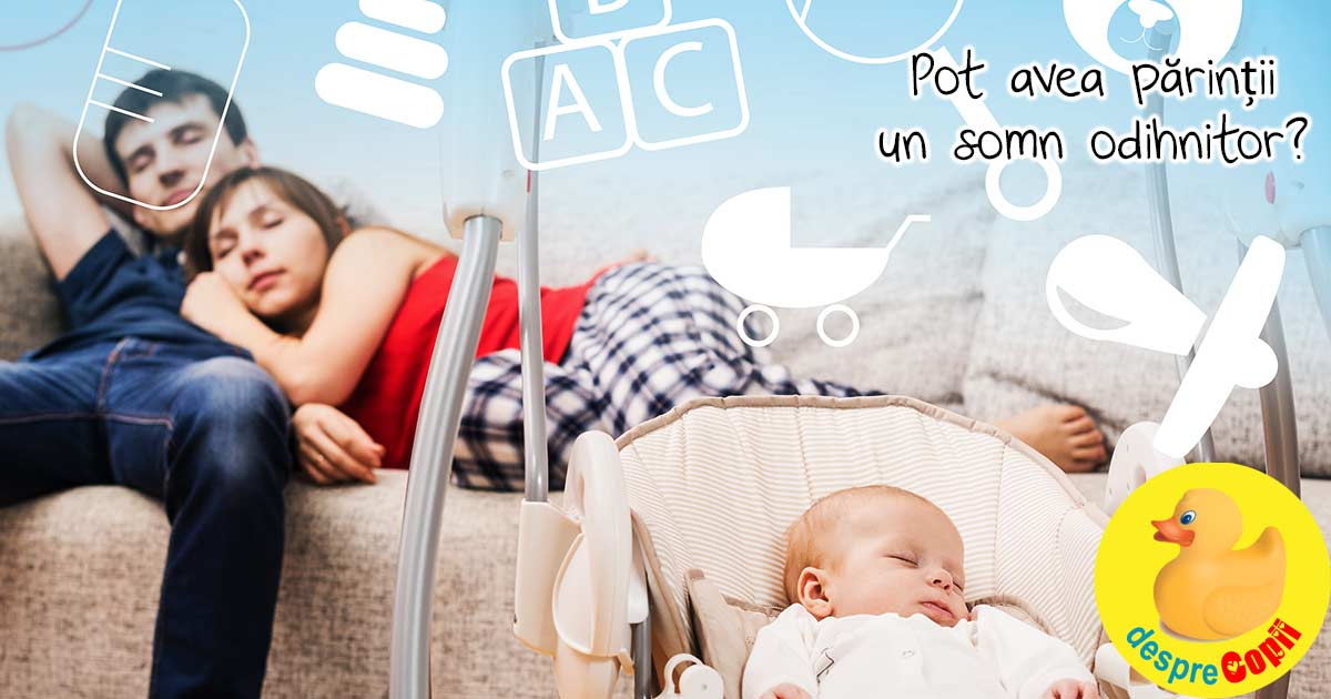 Somnul unei proaspete mamici: 7 sfaturi pentru a castiga un pic de odihna
