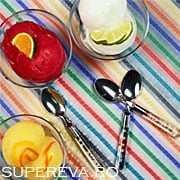 Sorbet din fructe