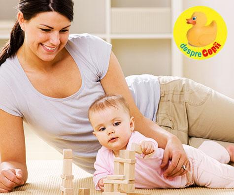 Importanta stimularii bebelusului