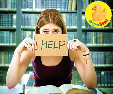 Stresul examenelor: cum ne ajutam copilul adolescent 10 sfaturi