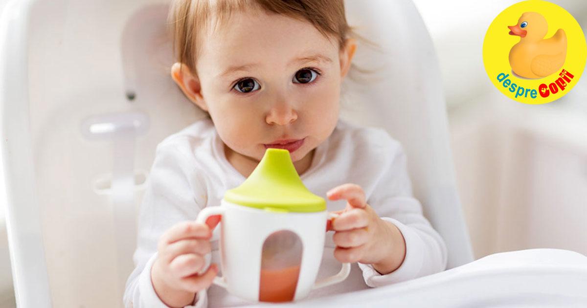 Cand putem da bebelusului suc de fructe, cat si de care - sfatul medicului pediatru