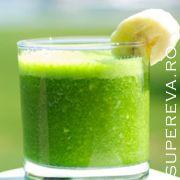 Cura de slabire si detoxificare cu sucul verde stralucitor