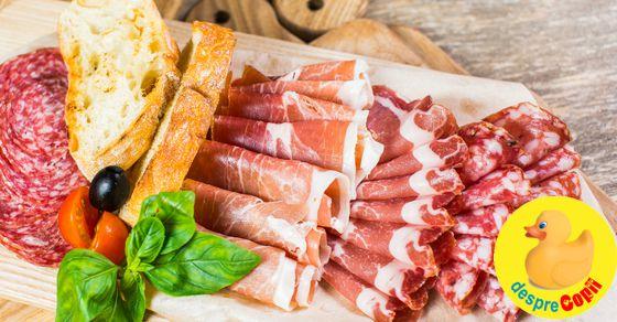 Sunt gravida: pot manca bacon, afumaturi si salam?