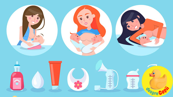 Iata de ce mamicile care alapteaza au nevoie de un forum (grup) de suport