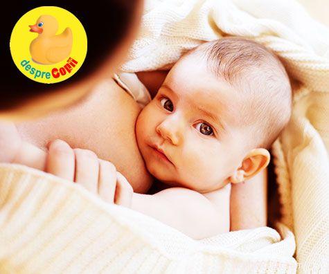 Suprimarea lactatiei: sau despre intarcarea bebelusului