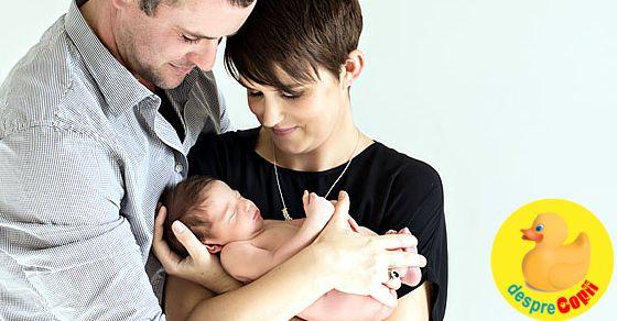 Cand tati este gelos pe bebelusul noul nascut - si asta chiar se intampla