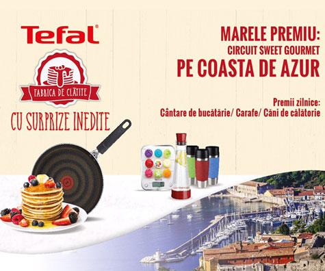 Fabrica de Clatite by Tefal, al treilea an de premii inedite si gusturi rafinate