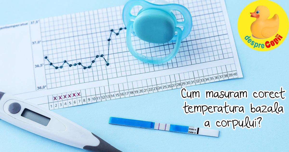 Temperatura bazala a corpului si ovulatia. Iata cum se monitorizeaza si cum te ajuta sa stii cand e ovulatia