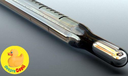 Termometrul cu mercur si riscul intoxicarii cu mercur