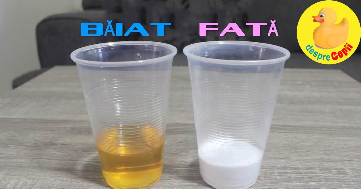 Testul cu bicarbonat de sodiu pentru a afla sexul bebelusului - iata cum se face si cat de corect este
