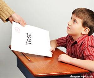 Primul test de performanta al copilului