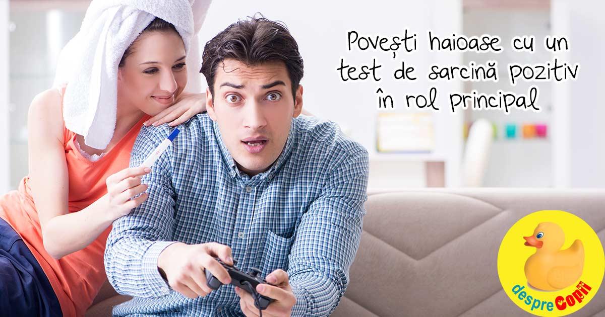 Cand testul de sarcina e POZITIV: intamplari amuzante cu testul si rezultatul