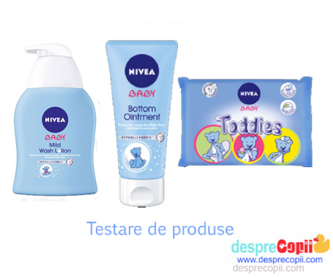 Am testat produsele Nivea Baby