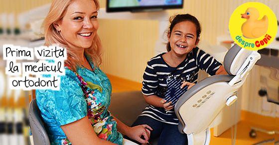 Prima vizita la medicul ortodont: vitala pentru dezvoltarea sanatoasa a copilului tau!