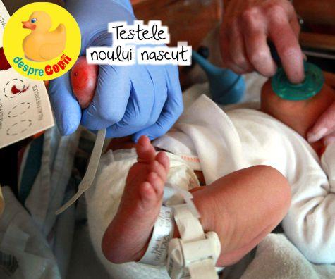 Testele noului nascut