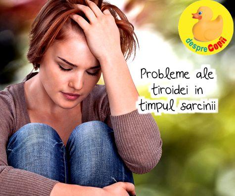 Probleme ale tiroidei in timpul sarcinii: tot ce trebuie sa stii