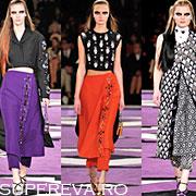 Pantaloni si fusta in tandem - un trend de toamna 2012