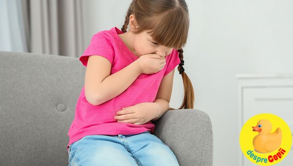 Toxiinfectia alimentara la copil in timpul verii - cum ne protejam copiii